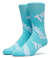 Huf Thrasher TDS Crew Socks - Mint