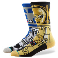Stance x Star Wars Droid Socks - Blue