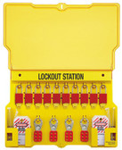 MASTER LOCK Safety Series Lockout Stations (470-1483BP1106)