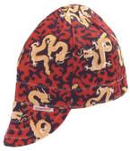 COMEAUX CAPS Deep Round Crown Caps (118-2000R-7)