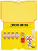 MASTER LOCK Safety Series Lockout Stations (470-1482BP3)