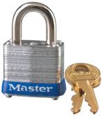 Master Lock No. 7 Laminated Steel Pin Tumbler Padlocks (470-7LJKD)