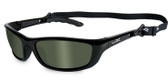 Wiley X P-17, Polarized Green Lens, Gloss Black Frame (P-17)