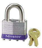 MASTER LOCK No. 1 Laminated Steel Pin Tumbler Padlocks (470-1D)
