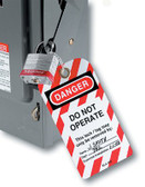"""MASTER LOCK Safety Series """"Do Not Operate"""" I.D. Tags (470-497A)"""