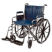 "Wheelchair, XWide 22"" w/Swingaway Footrests (Monthly Rent)"