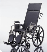 Full Reclining Wheelchair w/ Elevating Legrests, 18in
