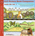 LLC Picture Book Companion Audio CD- Vol. 1