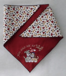 Doggie Bandana - You Had Me at Woof Neck under 20""