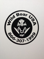 WILD BOAR USA HOG SKULL VINYL DECAL *FREE WITH A $50.00+ ORDER. (YOU WILL GET THIS AUTOMATICALLY WITH A $50.00+ ORDER - DO NOT CLICK ON THIS OR IT WILL ADD IT TO YOUR ORDER AND IT WILL NO LONGER BE FREE.)