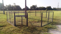 4 FOOT CORRAL TRAP PANEL/walk door  - (primed)