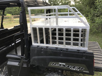 RANGER RAIL RIDE DOG BOX WITH STANDARD LATCHES