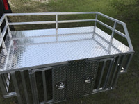 RANGER RAIL RIDE DOG BOX WITH FLUSH LATCHES