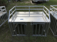 TRUCK OR FULL SIZE RANGER SLIDE IN DOG BOX WITH STANDARD LATCHES