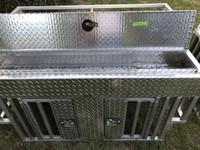 RANGER RAIL RIDE DOG BOX WITH 12 INCH TOP STORAGE
