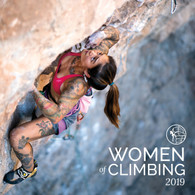 2019 Women of Climbing calendar front cover