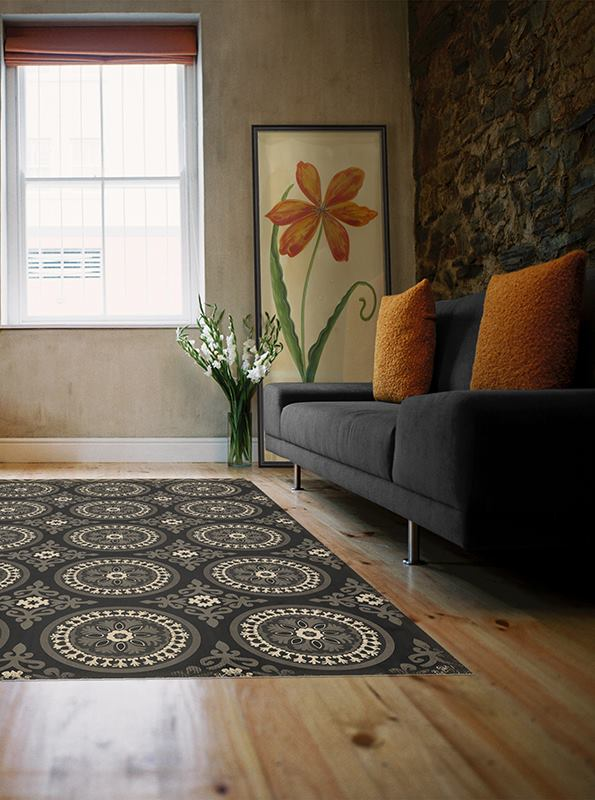 vinyl floorcloths - 85+ patterns with hundreds of options | pura