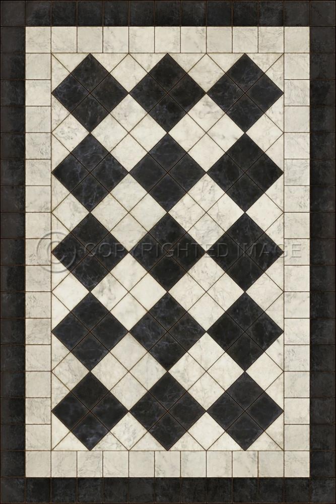 Pattern 65 Palatial Vinyl Floor Cloth Pura Vida Home Decor