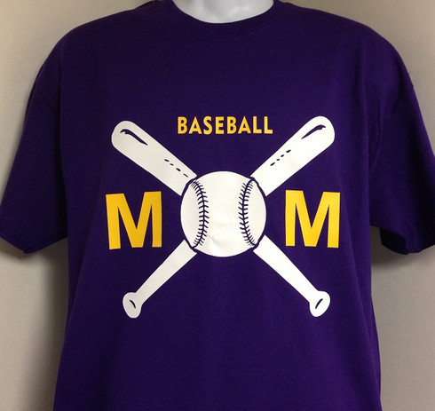 baseball mom t shirt harris designs