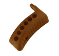 Mosin Nagant Brown Rubber Recoil Butt Pad - Chinese or Russian Rifles