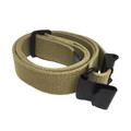 M1 Garand cotton web sling, khaki tan - WW2 Period correct