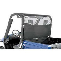 7040 - WindStopper - Solid - Black Nylon with Clear Vinyl Window - Polaris Ranger Full Size