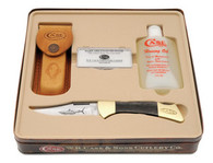Case® Mako Lockback Knife Gift Set w/ Honing Oil