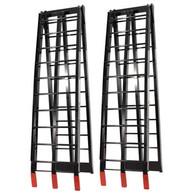 JobPro Black Aluminium Arched Folding Loading Ramps