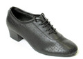 Very comfortable shoe. Order half size larger than street size.