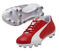 Puma evoSPEED 5.3 FG JR - Red/White SD (2417)
