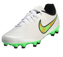 nike jr magista onda fg white green rc