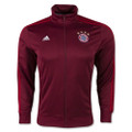 adidas Mens FC Bayern 3-Stripes Track Jacket - Craft Red/FCB True Red