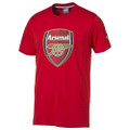 PUMA Arsenal FC Crest Tee - Red