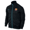 Nike Barcelona Core Training Jacket - Black/Light Current Blue