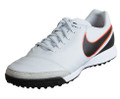 Nike Tiempo Genio II Leather TF - Pure Platinum/Black/Metallic Silver/Hyper Orange