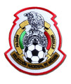 Mexico Patch - White/Red/Green