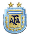 Argentina Patch - Light Blue/Gold
