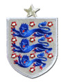 England Patch - Grey/Blue