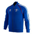 adidas Men's Chelsea FC Superstar Track Jacket - Royal Blue