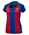 Nike Womens FC Barcelona Home Jersey 16/17 - Red/Blue