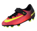 Nike Jr Mercurial Vortex III FG - Total Crimson/Black/Pink Blast/Volt (123016)