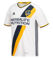 adidas 2016/17 LA Galaxy Home Youth Jsy - White/Collegiate Navy/Collegiate Gold (11617)