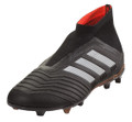 Adidas Predator 18+ FG J - Core Black/White/Solar Red (21118)