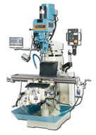 "Baileigh VM-949 Vertical Knee Milling Machine, 9"" x 49"""