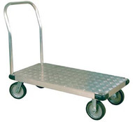 Wesco Thrifty Plate Aluminum Tread Platform Trucks