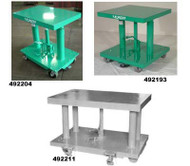 Lexco Foot Operated and Electric Hydraulic Lift Table