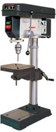 "JET 15"" and 20"" Step Pully Drill Presses"