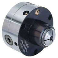 Bison 5C Collet Chuck, 5in Plain Back Tru-Length