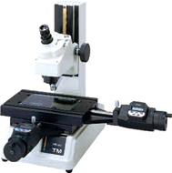 Mitutoyo Toolmakers MIcroscopes with 2 Digimatic Mic Heads