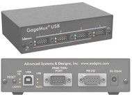 ASD/QMS GageMux USB Gage Interface